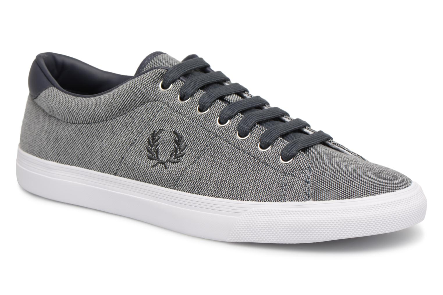 Fred Perry Underspin Pique (Gris) - Baskets chez Sarenza (320957)