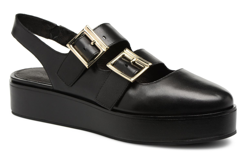 Grandes descuentos últimos zapatos What For Besse (Negro) - Sandalias Descuento