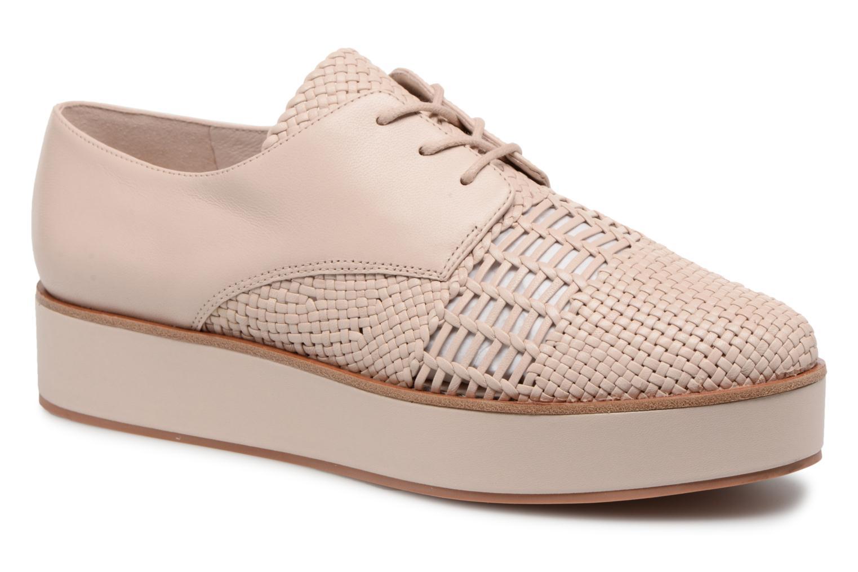 What For Bernie (Beige) - Chaussures à lacets chez Sarenza (321027)