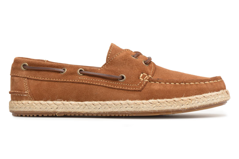 Chaussures à lacets Mr SARENZA Sboat Marron vue détail/paire