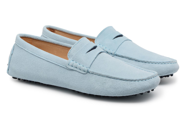 Loafers Mr SARENZA Suttin Blue back view