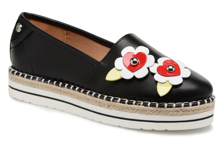Zapatos cómodos y versátiles Love Moschino Love Summer (Negro) - Alpargatas en Más cómodo