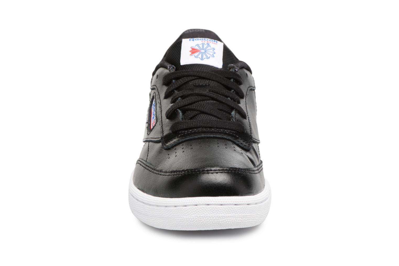 Baskets Reebok CLUB C/BS7285 Noir vue portées chaussures