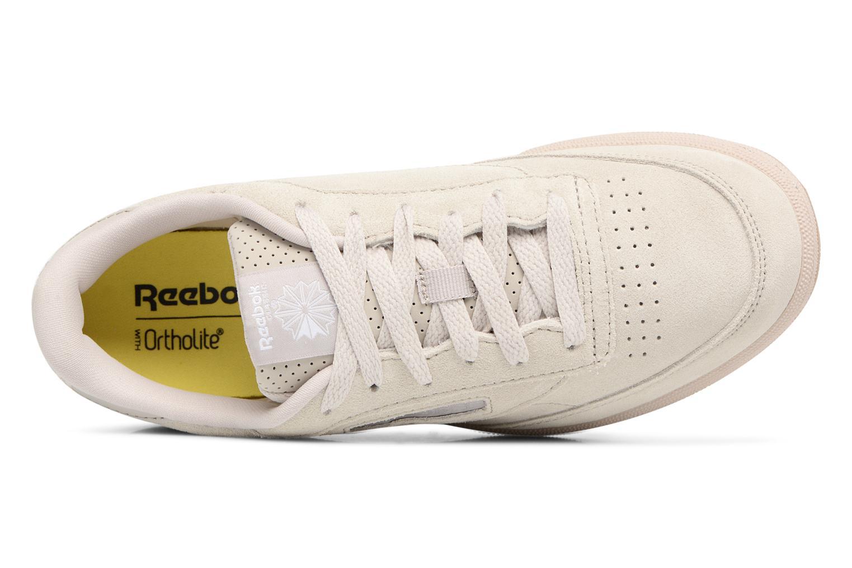 Baskets Reebok CLUB C/BS7285 Beige vue gauche