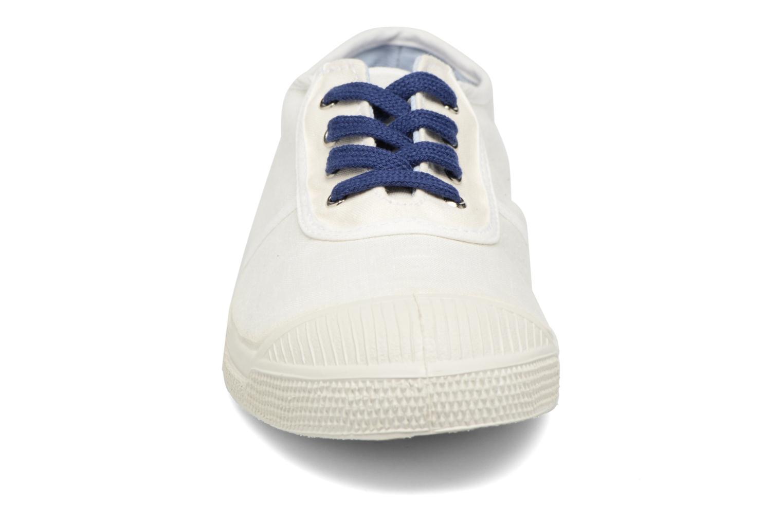 Baskets Bensimon Linenoldies Blanc vue portées chaussures