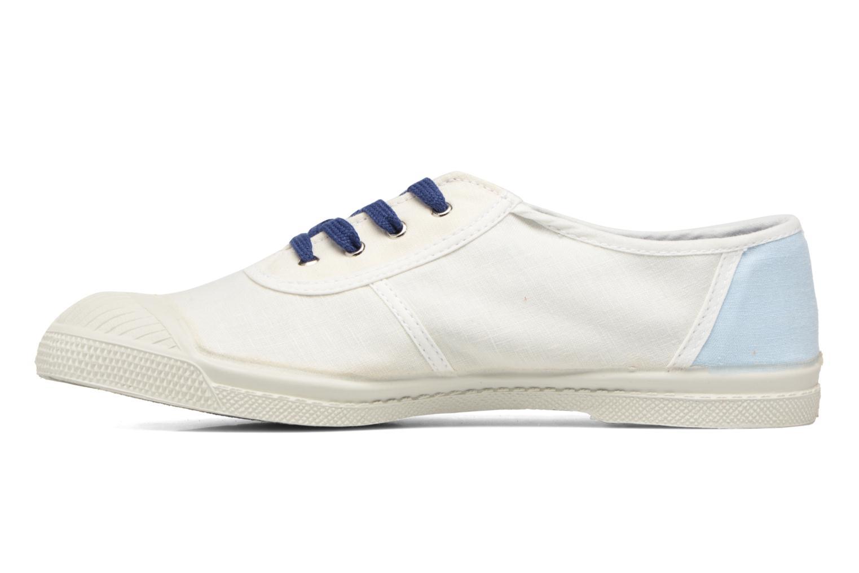 Baskets Bensimon Linenoldies Blanc vue face
