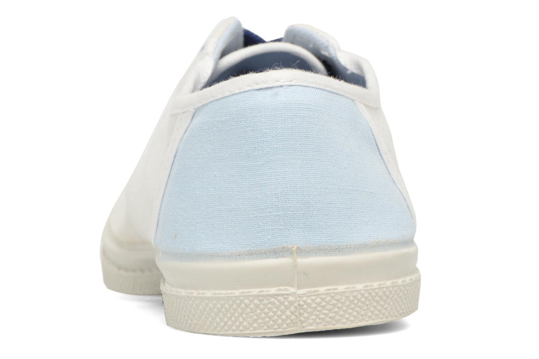 Baskets Bensimon Linenoldies Blanc vue droite