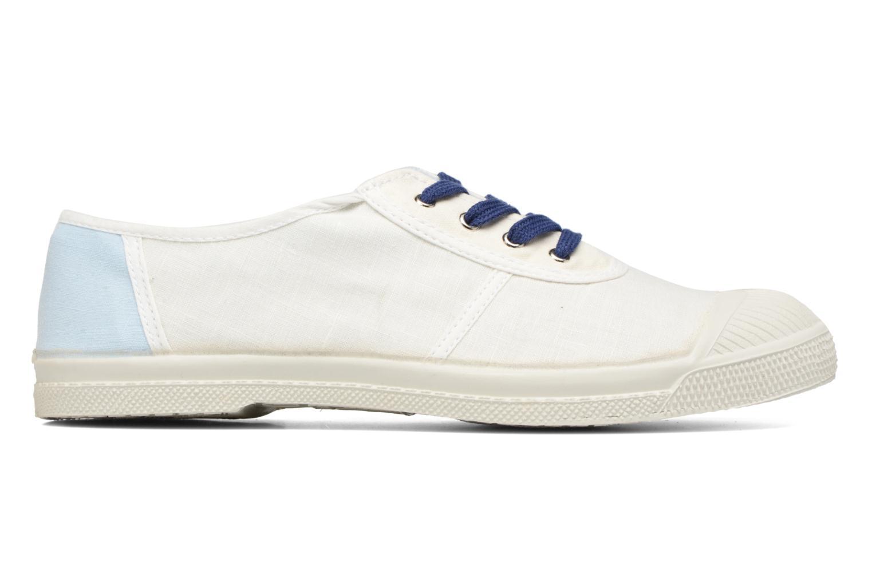 Baskets Bensimon Linenoldies Blanc vue derrière