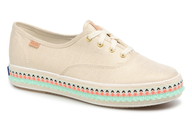 Zapatos promocionales Keds Triple Hula Foxing (Beige) - Deportivas   Descuento de la marca