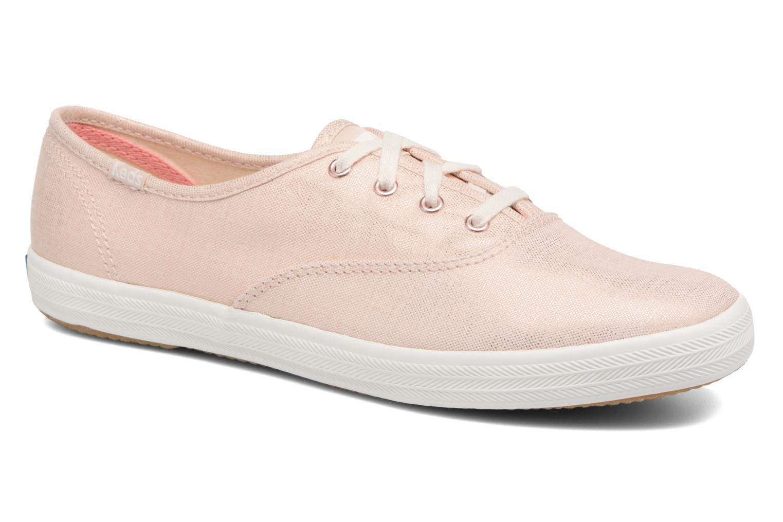 sale retailer 25d23 2492c Zapatos promocionales Keds Champion Metallic Linen (Rosa) - Deportivas Casual  salvaje