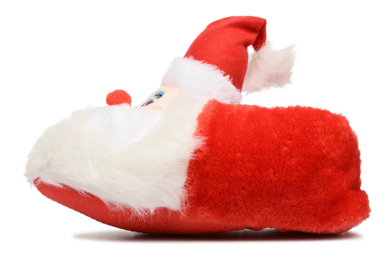 Chaussons Sarenza Wear Chaussons Femme Père Noël Rouge vue face