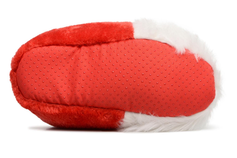 Chaussons Sarenza Wear Chaussons Femme Père Noël Rouge vue haut