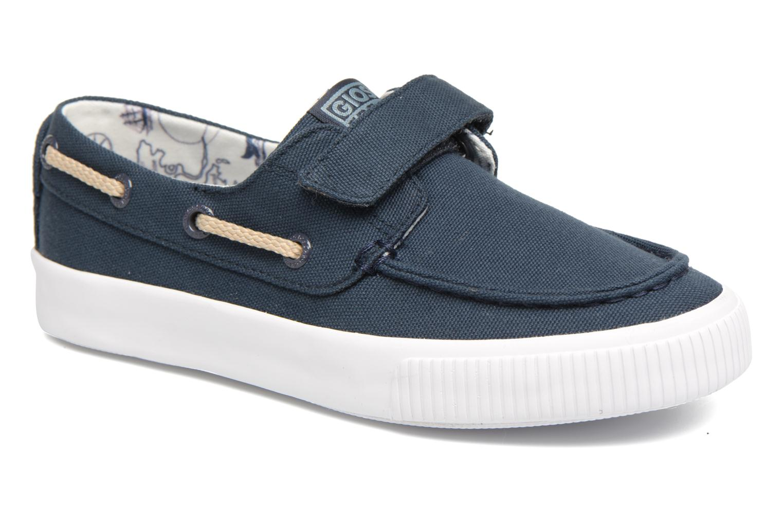 Chaussures à scratch Gioseppo Enzo Bleu vue détail/paire