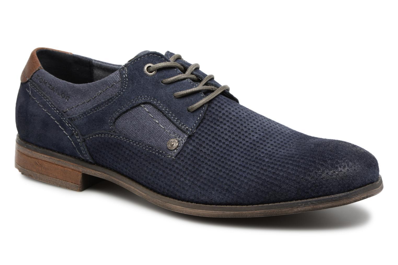 Tom Tailor Moux (Bleu) - Chaussures à lacets chez Sarenza (321564)