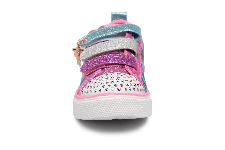 Baskets Skechers Twinkle Breeze 2.0 Triple Ups Multicolore vue portées chaussures