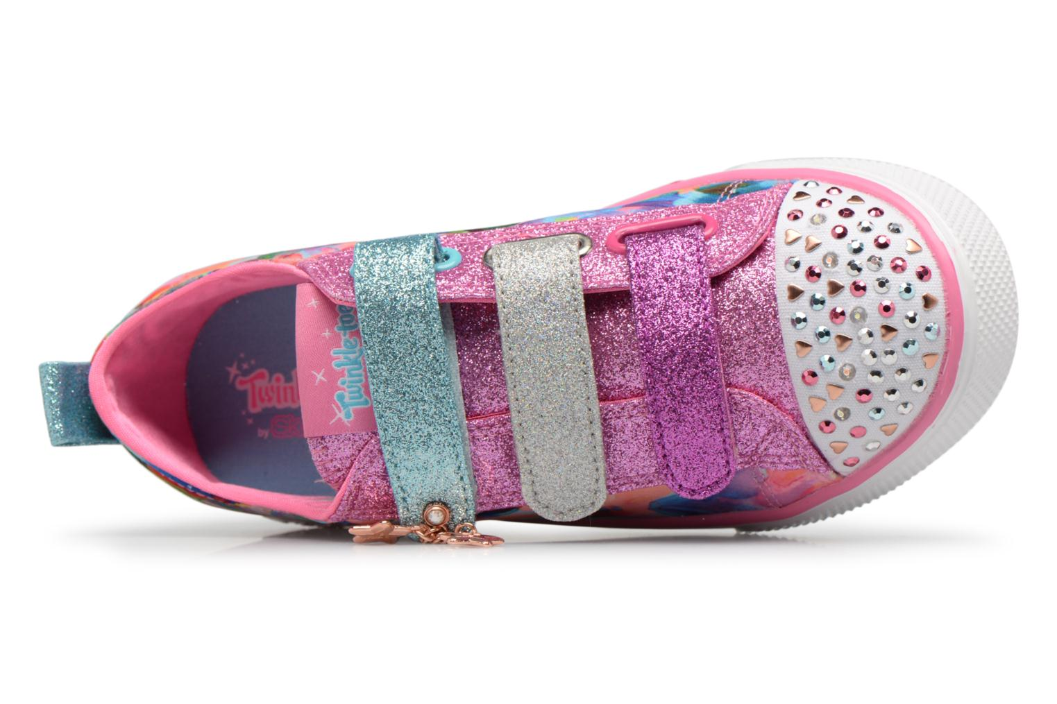Baskets Skechers Twinkle Breeze 2.0 Triple Ups Multicolore vue gauche