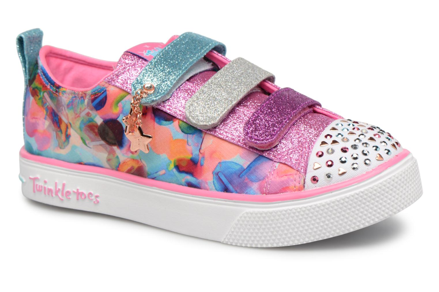 Baskets Skechers Twinkle Breeze 2.0 Triple Ups Multicolore vue détail/paire