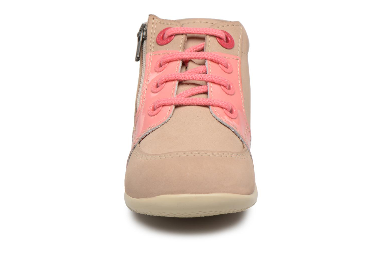 Bottines et boots Kickers Boucan Beige vue portées chaussures