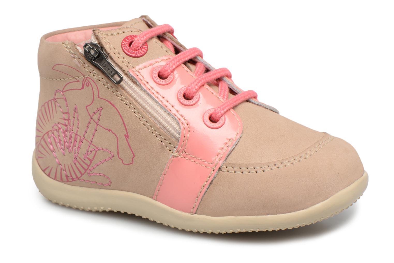 Bottines et boots Kickers Boucan Beige vue détail/paire