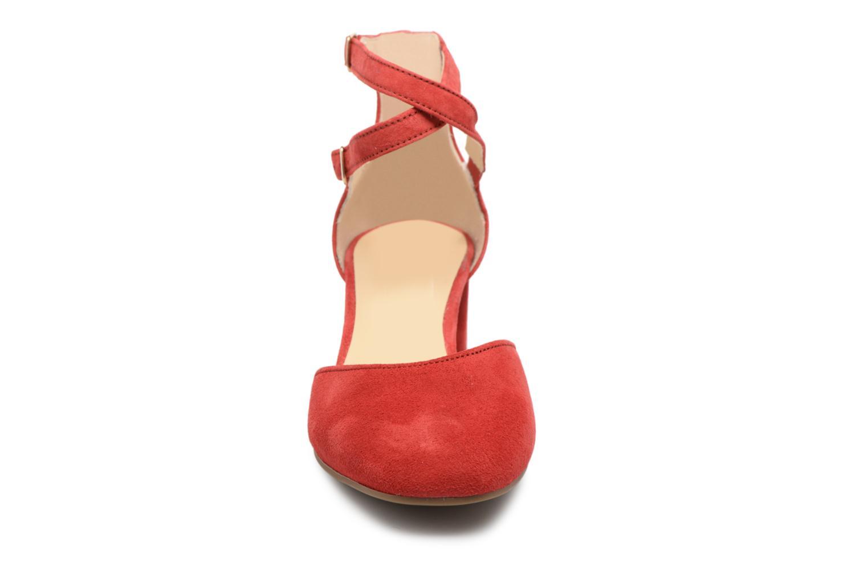 Escarpins Gabor Jodie Rouge vue portées chaussures