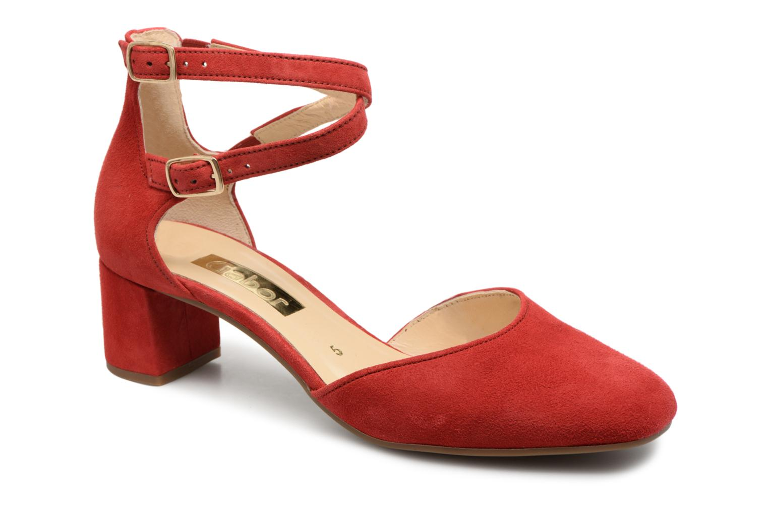Marques Chaussure femme Gabor femme Jodie Rosso