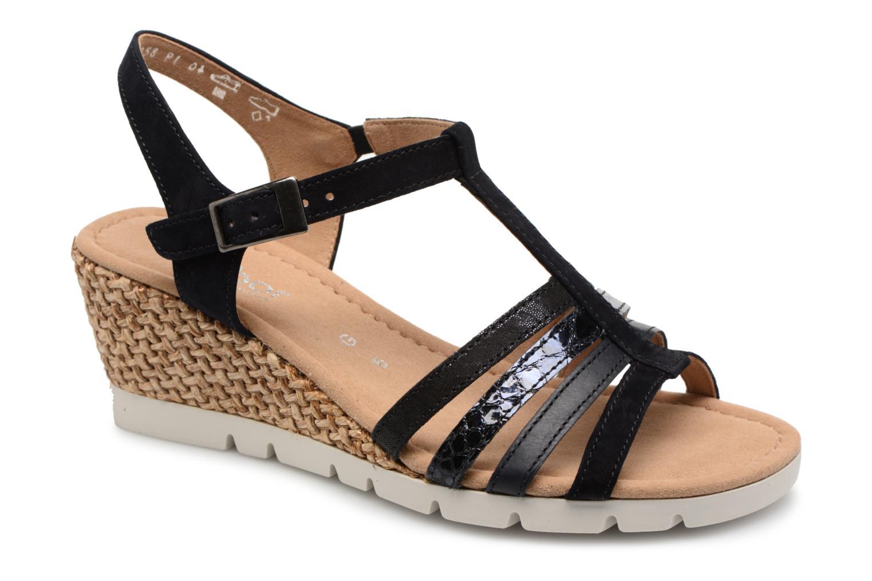 Zapatos promocionales Gabor Isla (Azul) - Sandalias   Gran descuento