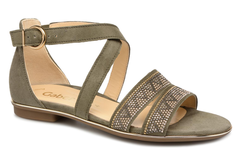 ZapatosGabor  Luz (Verde) - Sandalias  ZapatosGabor  Descuento de la marca 2e0f66