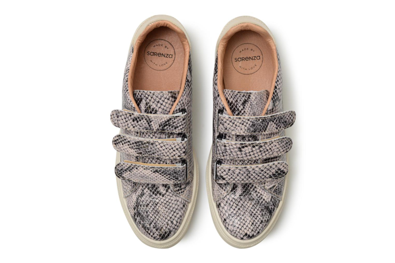 Baskets Made by SARENZA Busy Girl Basket #1 Beige vue portées chaussures