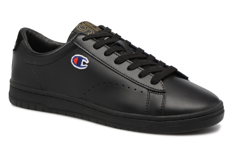 Champion Low Cut Shoe 919 LOW PATCH LEATHER (Noir) - Baskets chez Sarenza (322034)