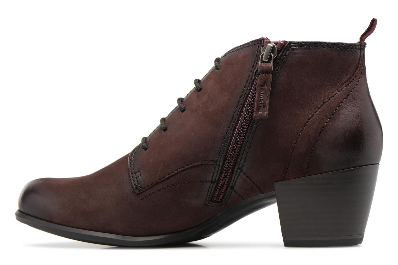 Bottines et boots Tamaris 25115 Bordeaux vue face