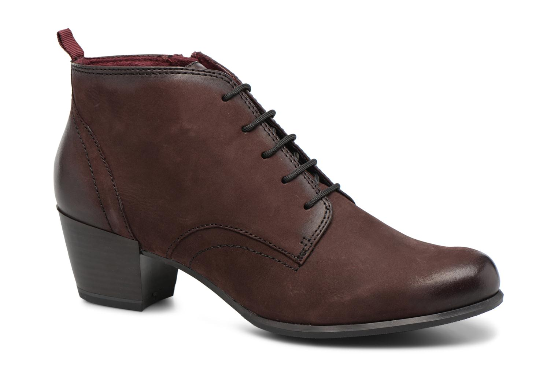 Bottines et boots Tamaris 25115 Bordeaux vue détail/paire