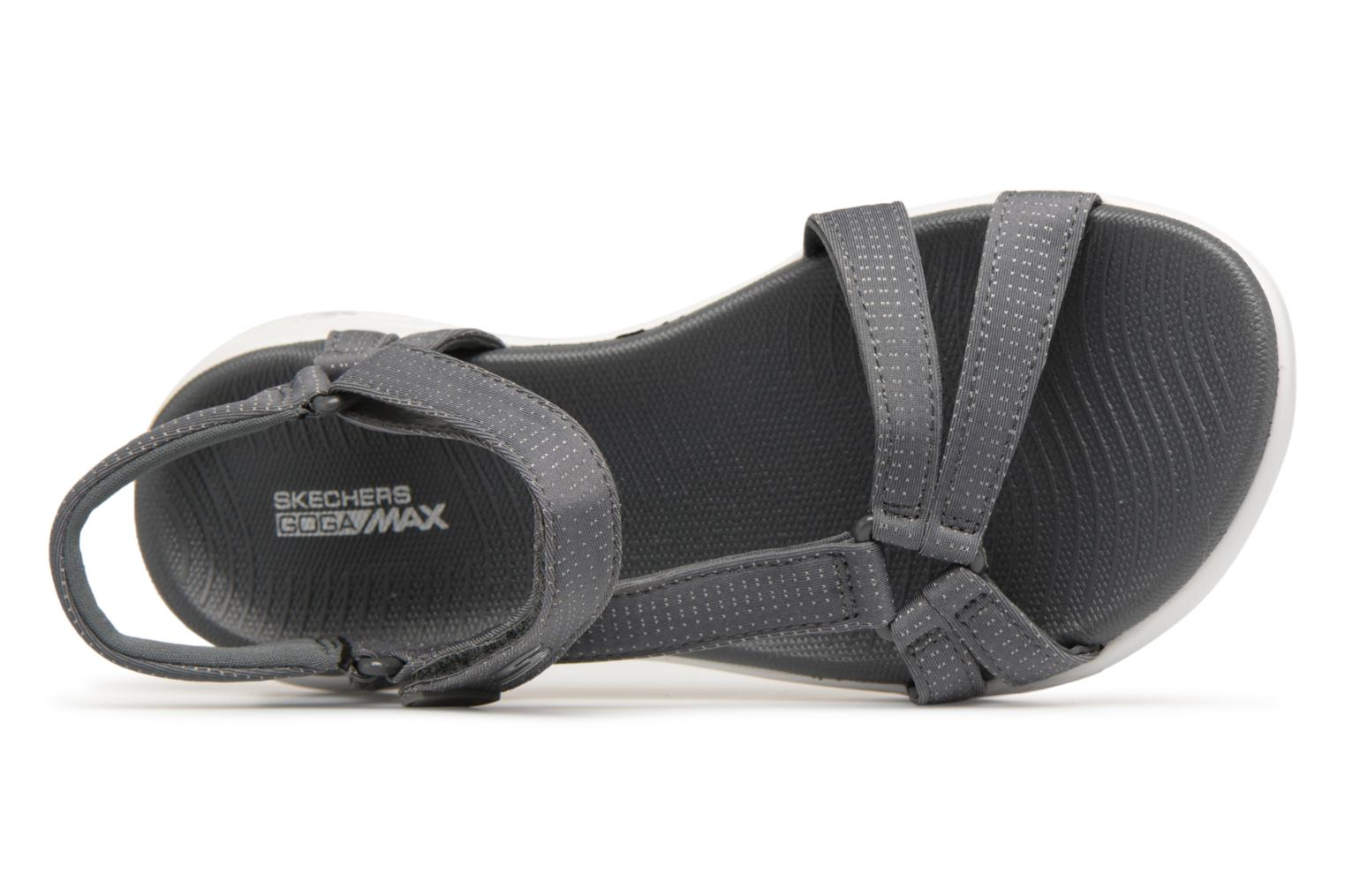 Sandals Skechers On-The-Go 600-Brilliancy Grey view from the left