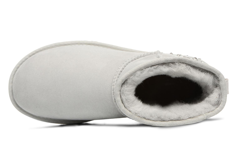 Bottines et boots UGG Mini Studded Bling Gris vue gauche