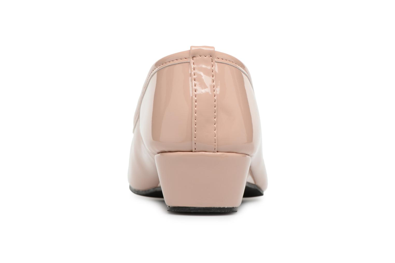 Ballerine vernie - talon 3cm Rose