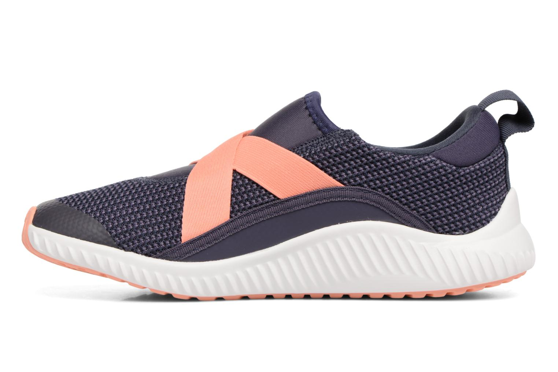 Sneakers Adidas Performance Fortarun X CF K Grijs voorkant