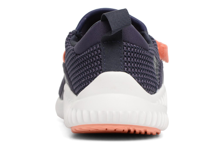 Sneakers Adidas Performance Fortarun X CF K Grijs rechts