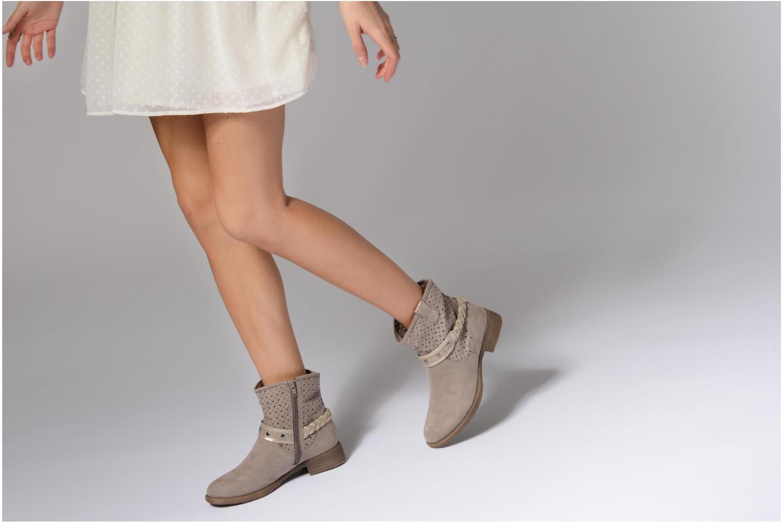 Bottines et boots Jana shoes Garsea Beige vue bas / vue portée sac