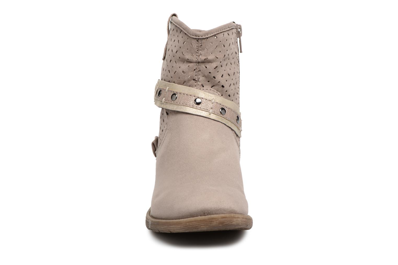 Bottines et boots Jana shoes Garsea Beige vue portées chaussures