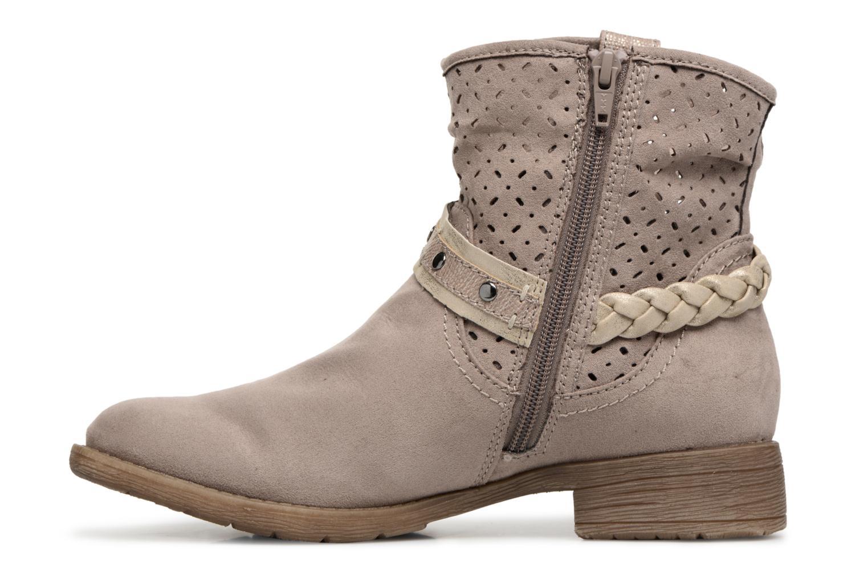 Bottines et boots Jana shoes Garsea Beige vue face