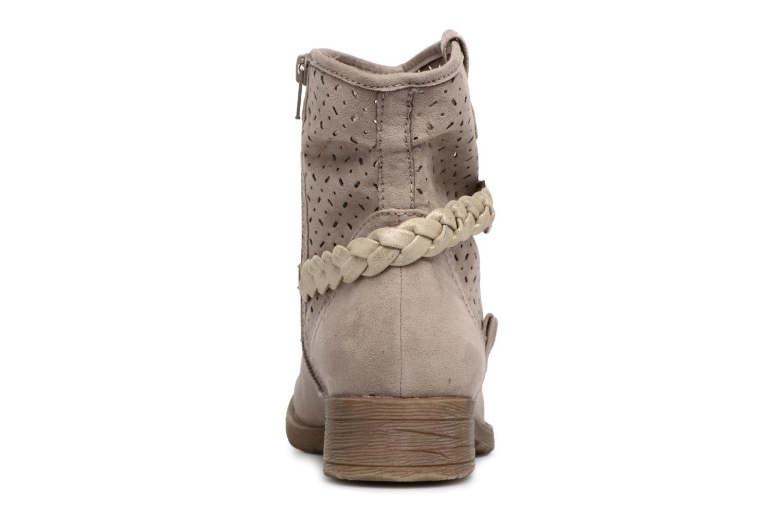 Bottines et boots Jana shoes Garsea Beige vue droite
