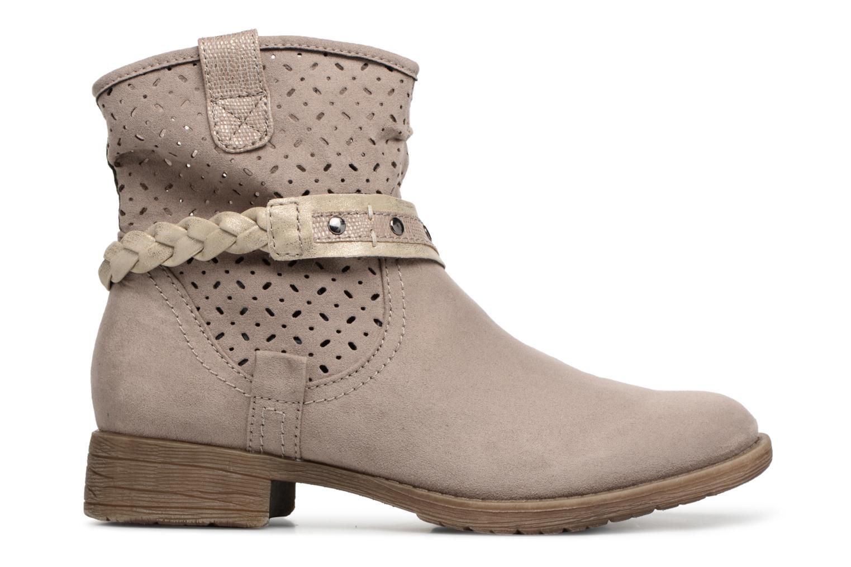 Bottines et boots Jana shoes Garsea Beige vue derrière