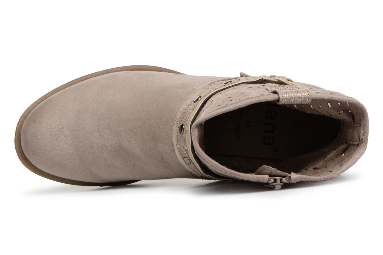 Bottines et boots Jana shoes Garsea Beige vue gauche