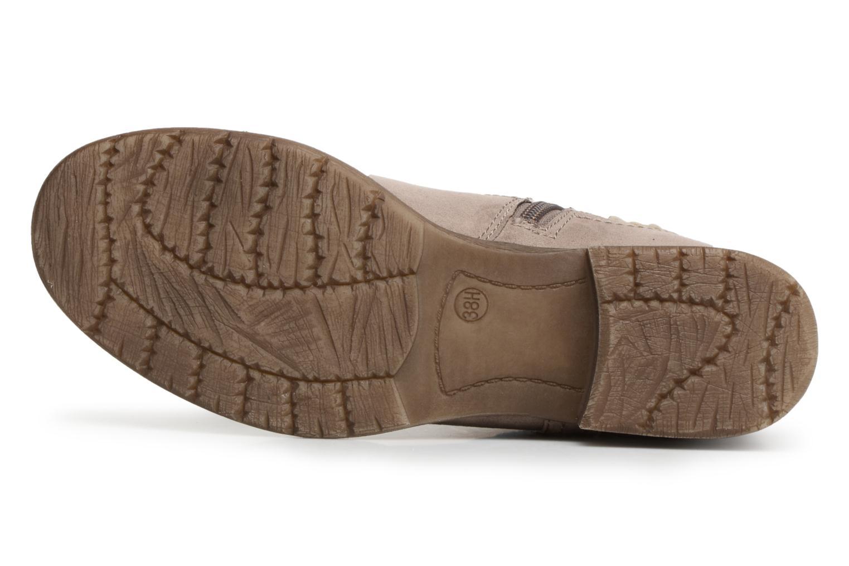 Bottines et boots Jana shoes Garsea Beige vue haut
