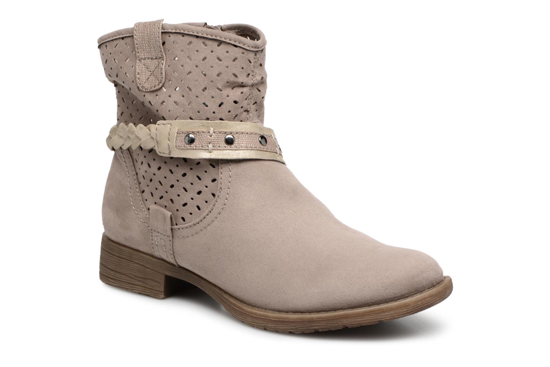 Bottines et boots Jana shoes Garsea Beige vue détail/paire