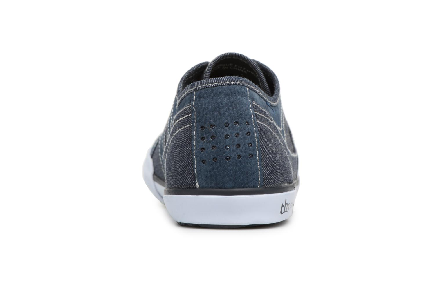 Trainers TBS Elliass-U8062 Blue view from the right