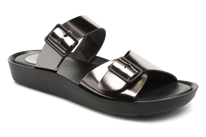 Zapatos de hombres y mujeres de moda casual TBS Nenufar-A7251 (Plateado) - Zuecos en Más cómodo