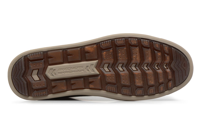 Bottines et boots Skechers Droven-Evado Marron vue haut
