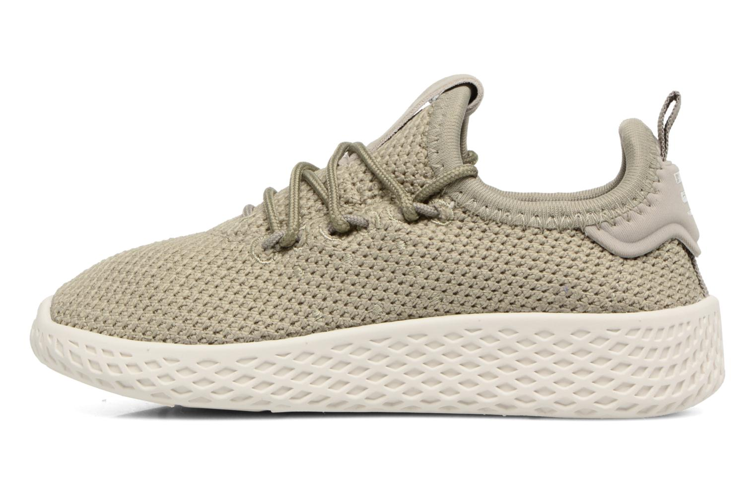 Sneakers Adidas Originals Pharrell Williams Tennis Hu I Groen voorkant