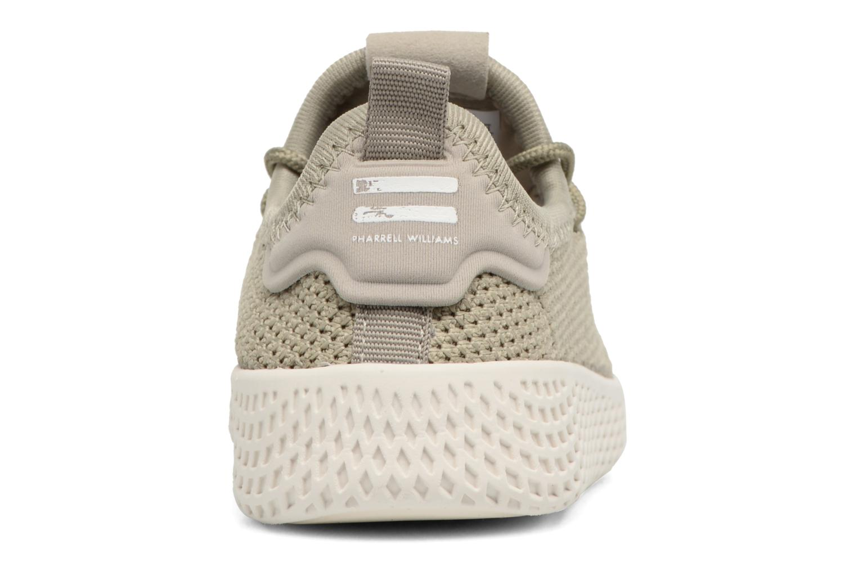 Baskets Adidas Originals Pharrell Williams Tennis Hu I Vert vue droite