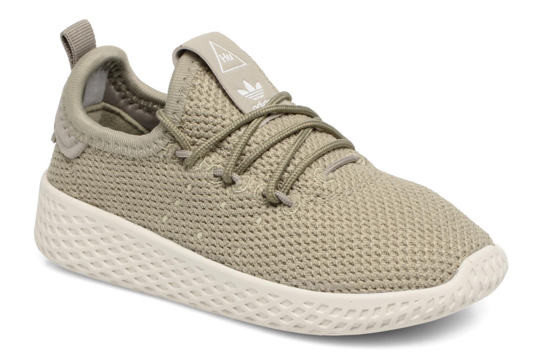 Baskets Adidas Originals Pharrell Williams Tennis Hu I Vert vue détail/paire